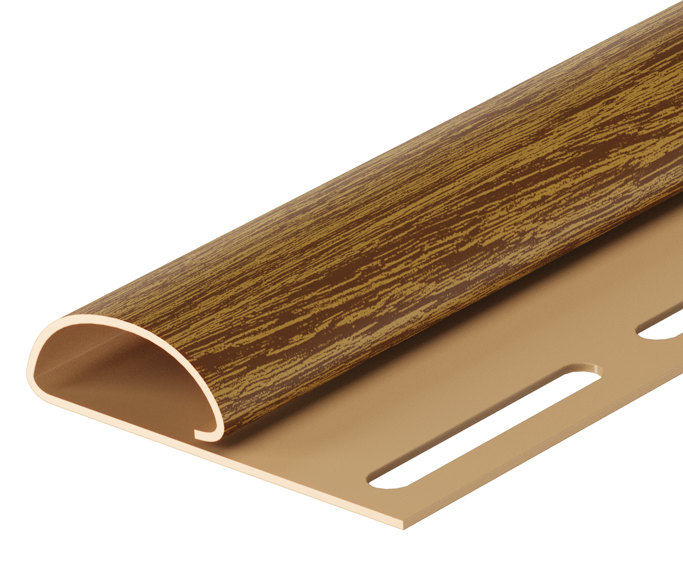 Виниловый сайдинг - Accessories - For LUX SERIES - Finish Strip - Finish Strip Almond
