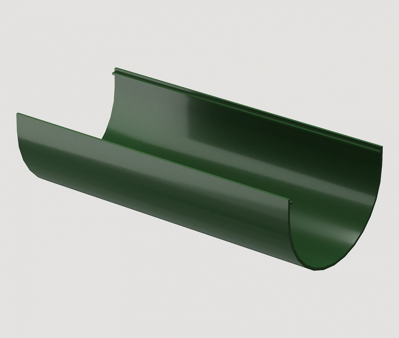 Водостоки - STANDARD SERIES Green RAL 6005 - Elements of the drainage system - Gutter 2m